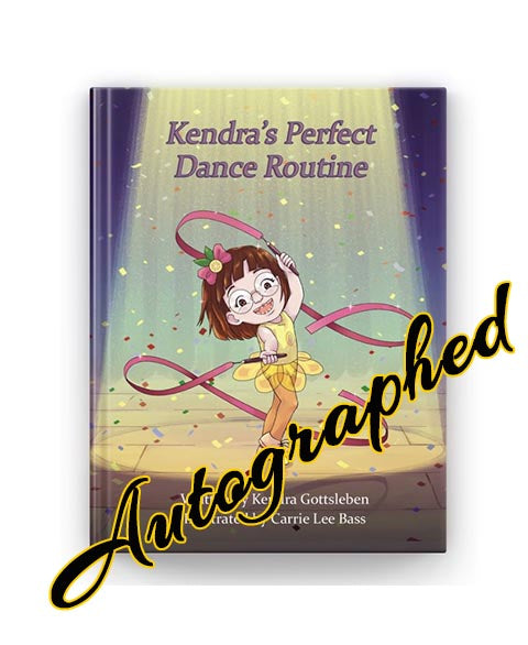 Autographed Kendra's Perfect Dance Routine