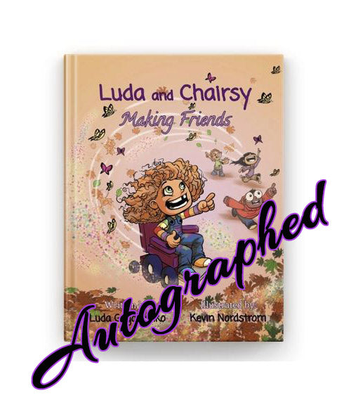Autographed Luda & Chairsy Hardcover