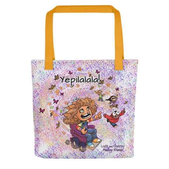 Yepilalala Lightweight Tote Bag