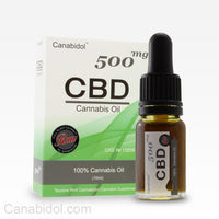 Canabidol™ Cannabis Oil Drops (RAW) 500mg