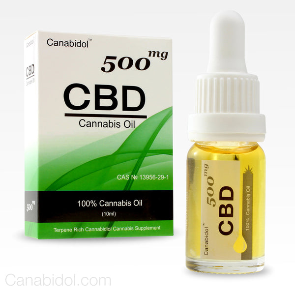 Canabidol™ Refined Cannabis CBD Oil Drops 500mg
