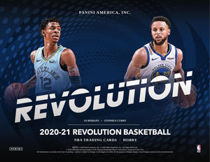 2020-21 Panini Revolution Basketball Hobby Box
