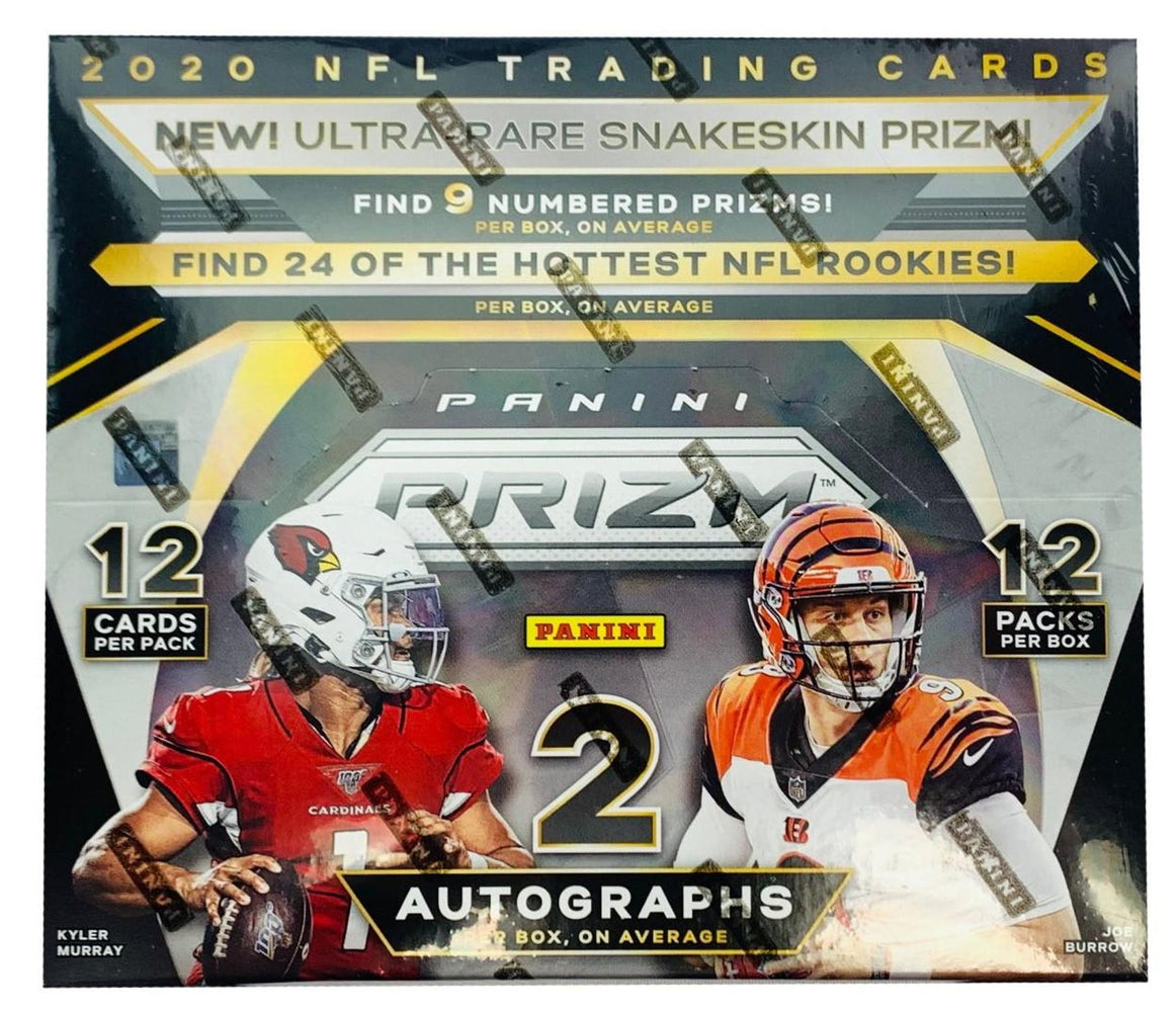 2020 Panini Prizm Football Hobby Box