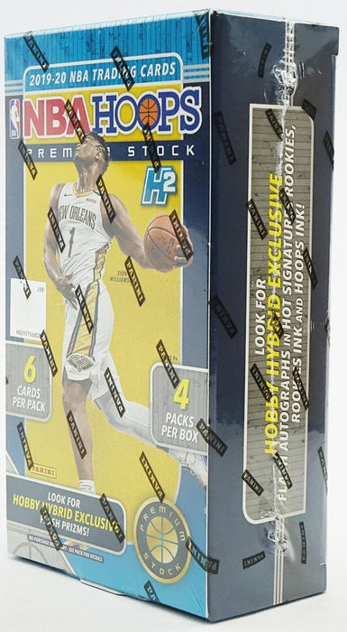 2019-20 Panini Hoops Premium Stock Basketball Hobby Box