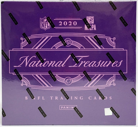 2020 Panini National Treasures Football Hobby Box