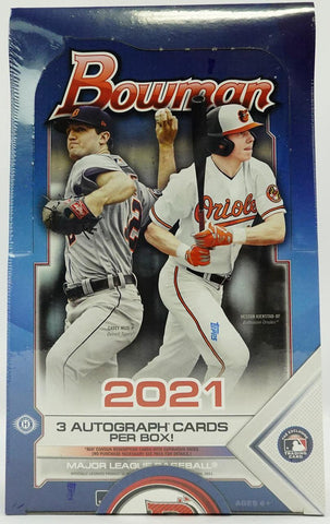2021 Bowman Baseball Jumbo Box