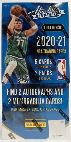 2020-21 Panini Absolute Memorabilia Basketball Hobby Box