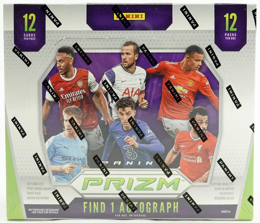 2020-21 Panini Prizm English Premier League Soccer Hobby Box