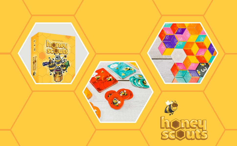 honeyscouts, indian board game, family, kids,