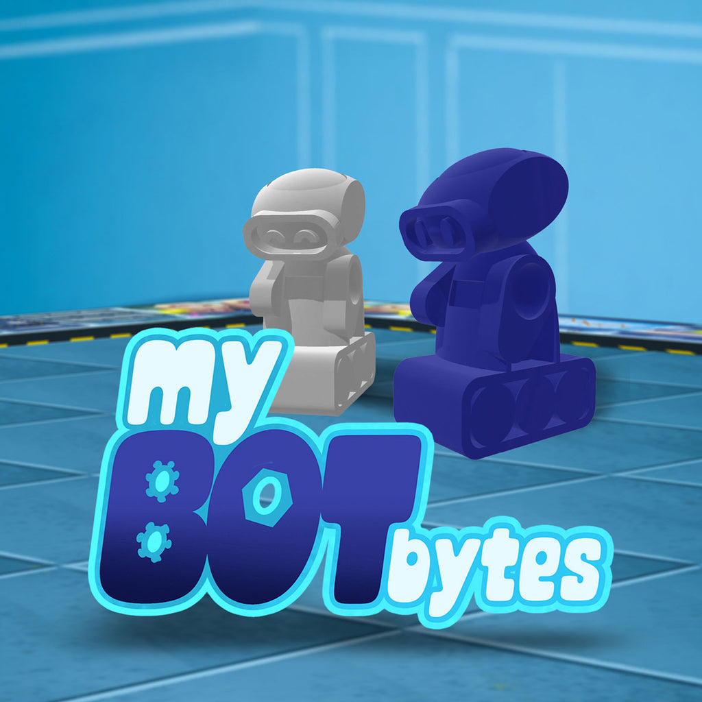 my bot bytes, india, board games, family games, kids, STEM