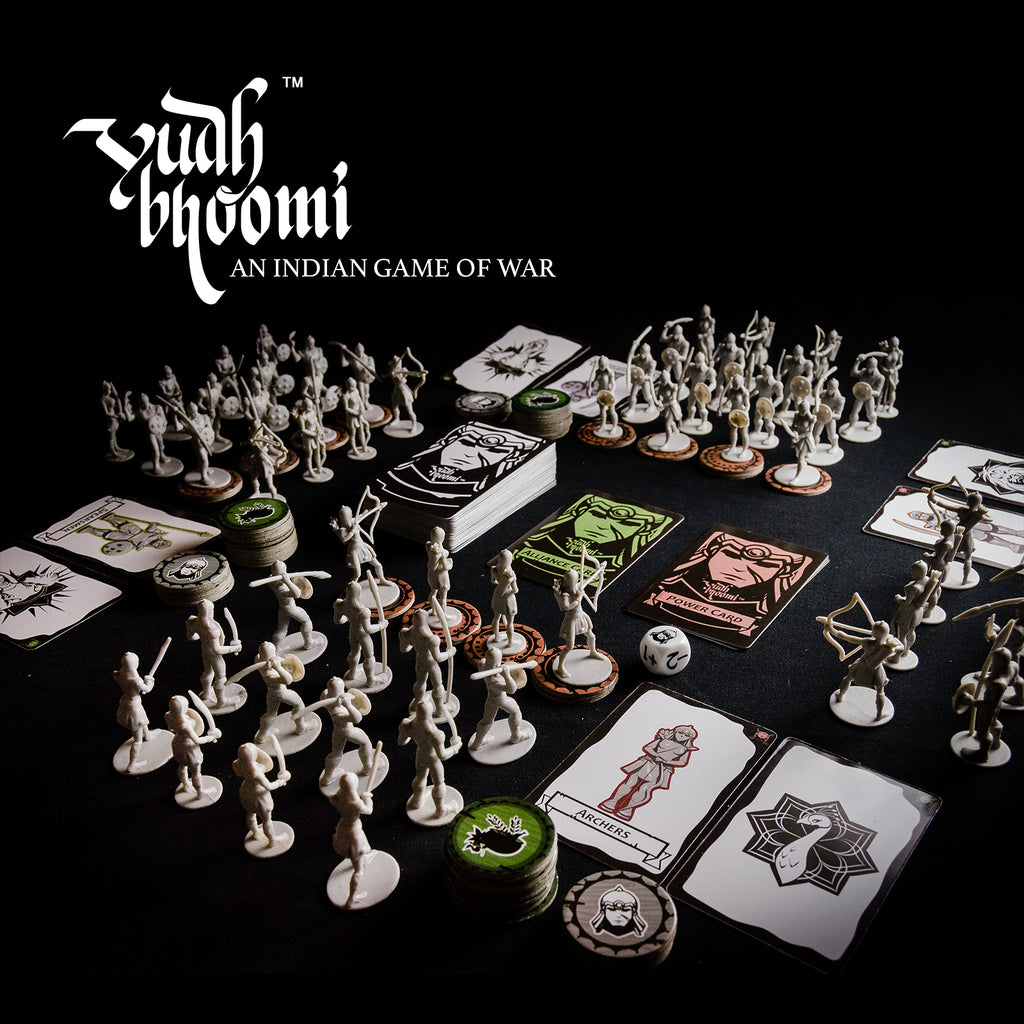 yudhbhoomi indian war game boardgames best india mini warrior figures miniature toys games