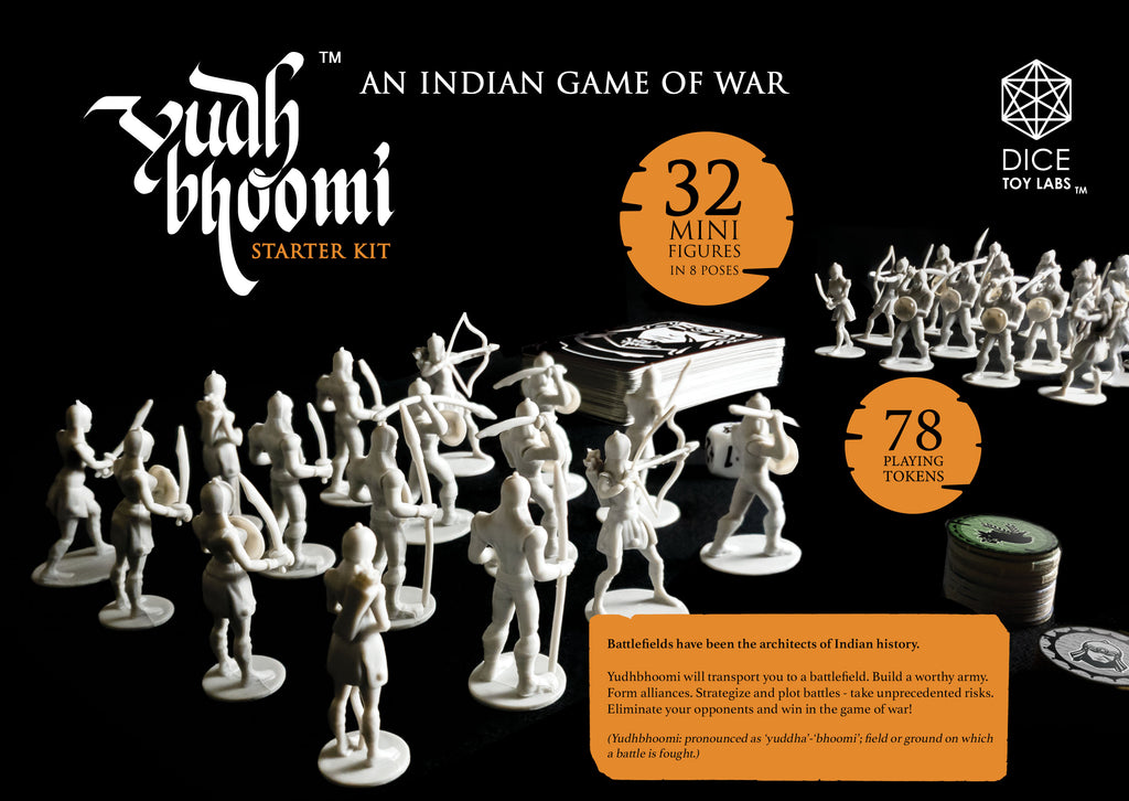 yudhbhoomi indian game of war mini figures warrior india toys fun cool new