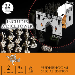 YUDHBHOOMI - STARTER KIT | 2 Players | AGES: 5+