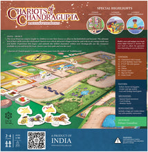 Load image into Gallery viewer, CHARIOTS OF CHANDRAGUPTA | 2-4 Players | AGES: 5+ | INTL