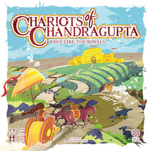 Load image into Gallery viewer, CHARIOTS OF CHANDRAGUPTA | 2-4 Players | AGES: 5+