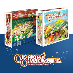 CHARIOTS OF CHANDRAGUPTA | 2-4 Players | AGES: 5+