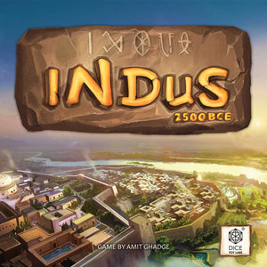 INDUS 2500BCE | FLIP & WRITE STRATEGY GAME