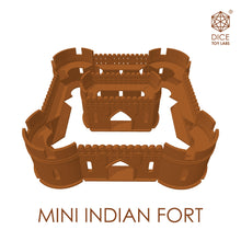 Load image into Gallery viewer, MINI INDIAN FORT - COLLECTIBLE | MODULAR BUILDING SET