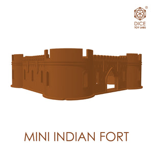 MINI INDIAN FORT - COLLECTIBLE | MODULAR BUILDING SET