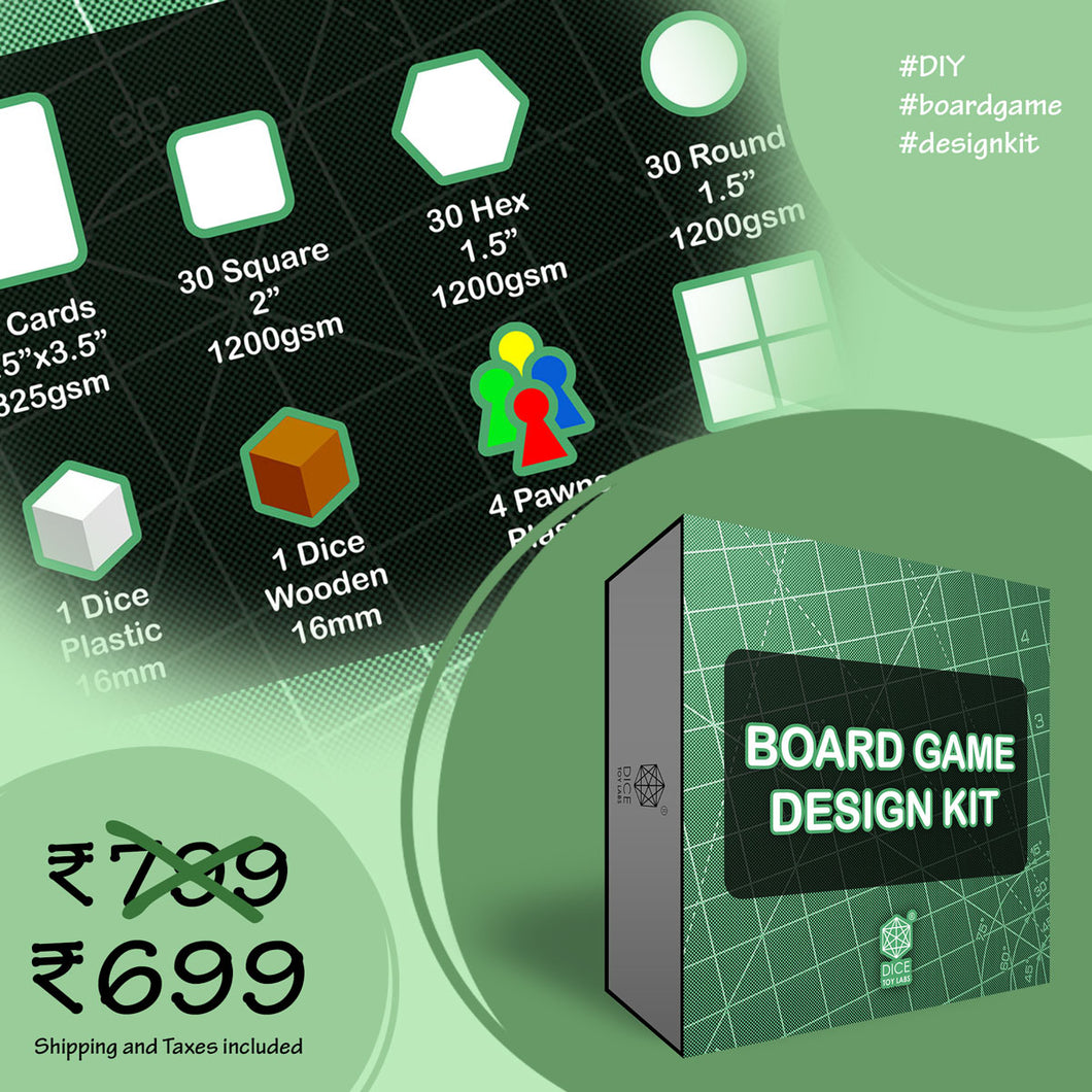 NEW BOARD GAME DESIGN KIT
