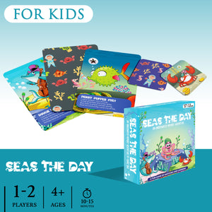 SEAS THE DAY | 1-2 Players | Ages 4+