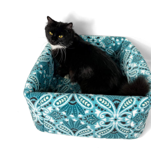 2-in-1 Cat Basket FourLeggedLux