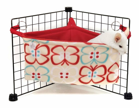 chinchilla basket bed pom pom