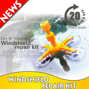 Glass repair kit instantly repairs and corrects glass cracks (100% Work Guarantee)