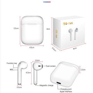 Original i9s tws earphones Wireless Bluetooth Earbuds Bluetooth 5.0 earpieces