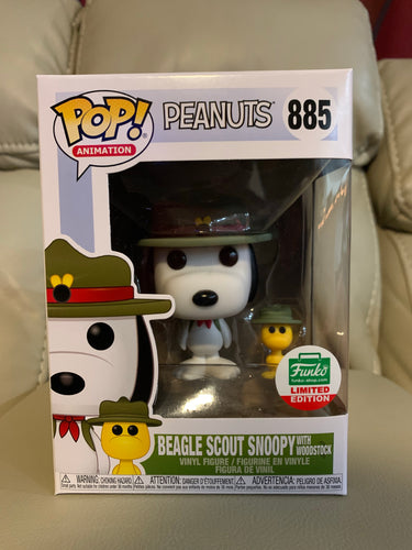 Funko Pop! Snoopy w/ woodstock