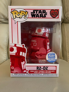 Funko Pop! R2-D2 with heart