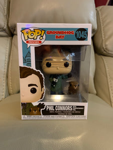 Funko Pop! Phil Connors w/ Punxsutawney Phil