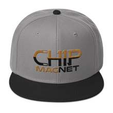 Load image into Gallery viewer, Black/Old Gold Snapback