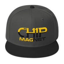 Load image into Gallery viewer, Black/Gold Snapback