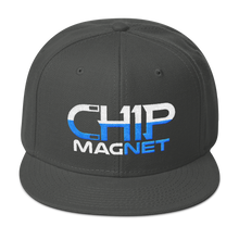 Load image into Gallery viewer, White/Baby Blue Snapback