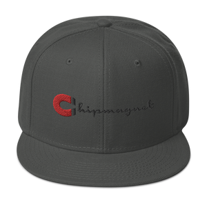 CMagnet! Red/Blk Snapback