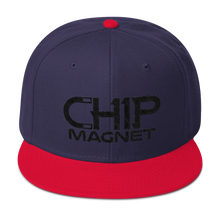 Load image into Gallery viewer, Black/Grey Snapback
