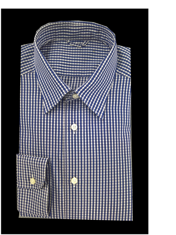 Classic Blue and White check - cutbrand Store