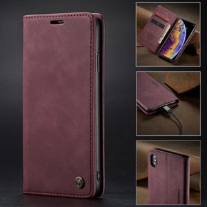 Huawei Wallet Cover Premium Leather Folio Flip Cover