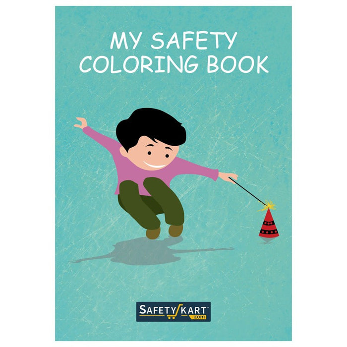 My Safety Comic & Colouring Book