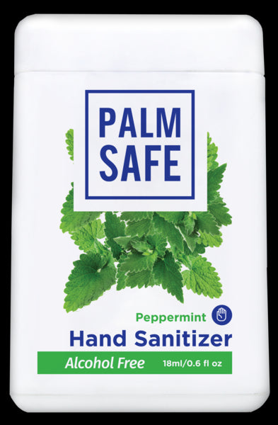 Palm Safe Alcohol-Free Hand Sanitizer Pocket-size Spray (Peppermint)