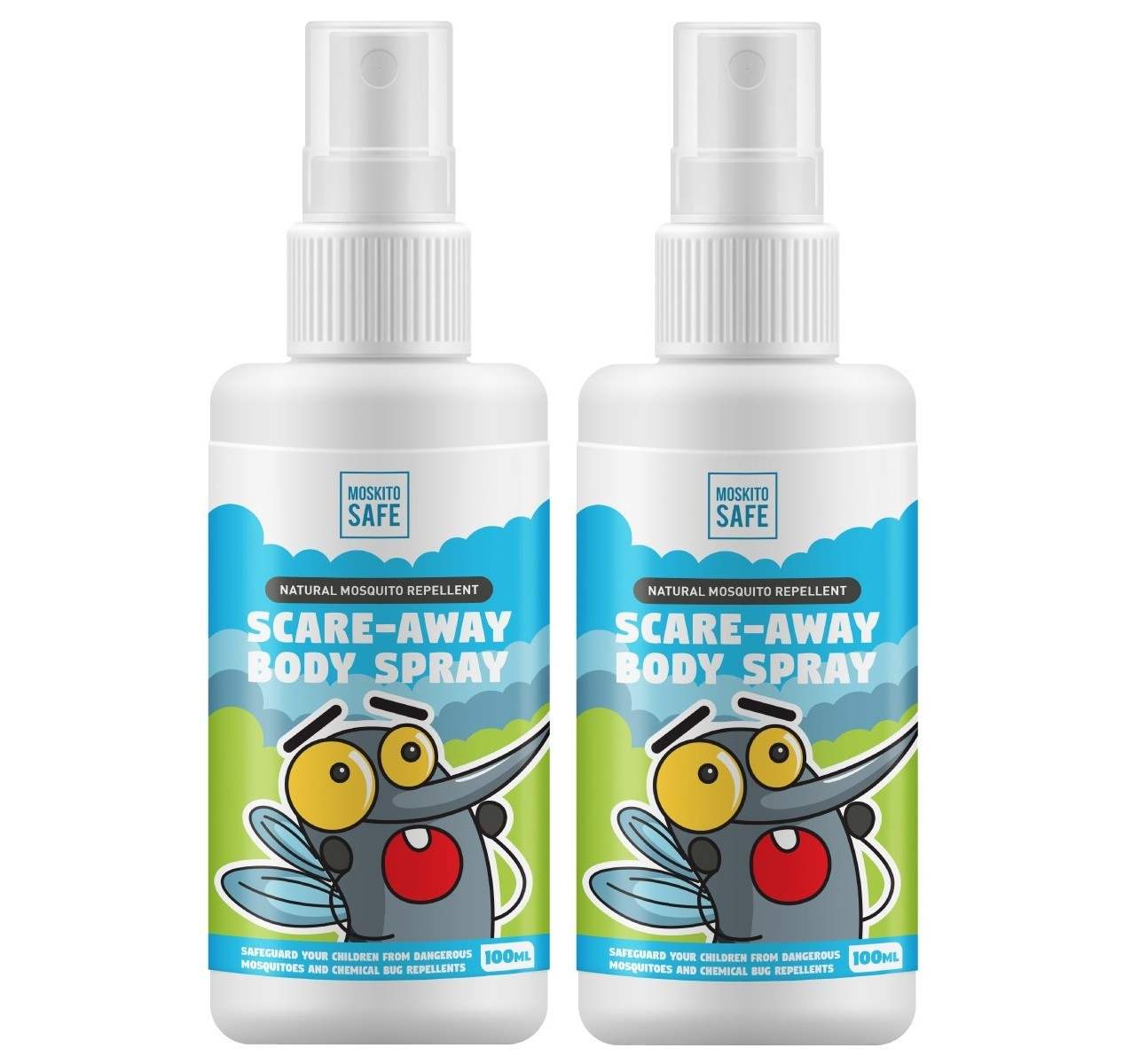 MoskitoSafe natural Mosquito repellent spray