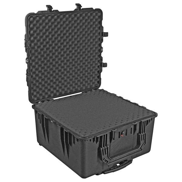Pelican 1640 Transport Case with Foam (Black)