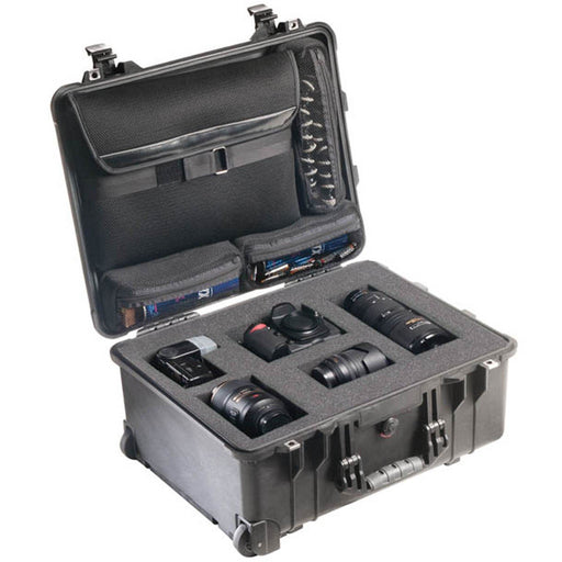 Pelican 1560LFC Camera Case (with Foam & Lid Organizer)
