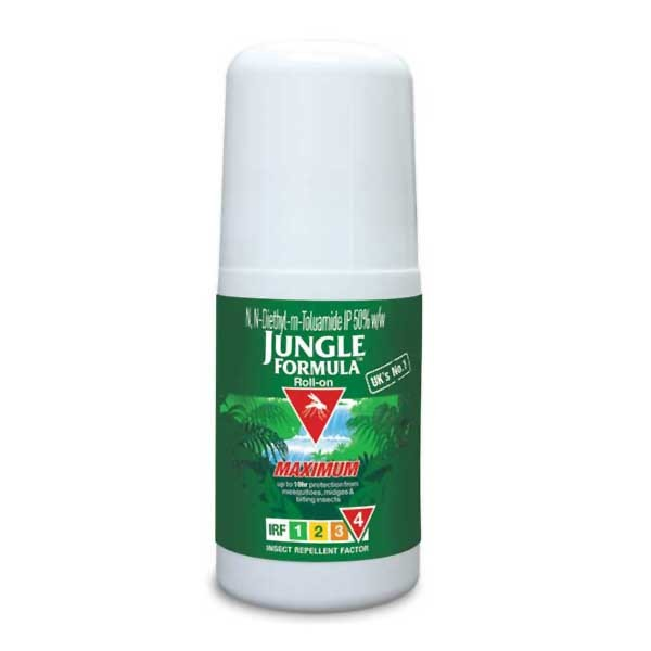 Jungle Formula Mosquito Repellent 50ml Maximum Roll-on