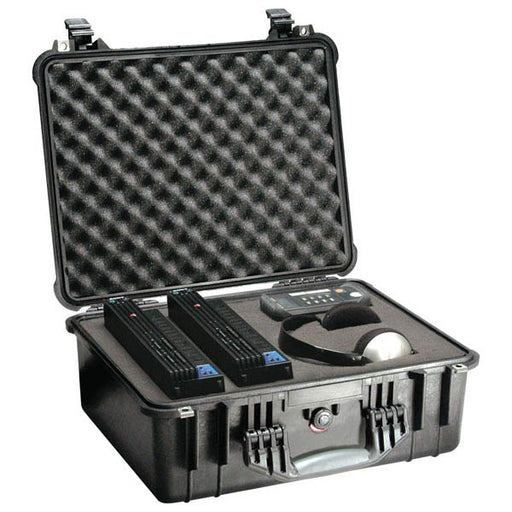 Pelican 1550 Hard Case with Foam (Black)