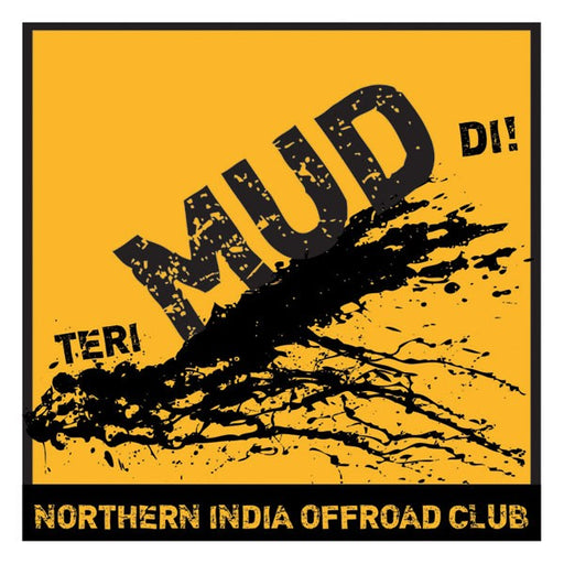 "NIOC Teri Mud Di Sticker - 6""x 6"""