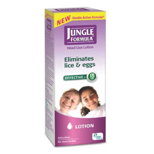 Jungle Formula Lotion 25ml Head Lice & Eggs Treatment