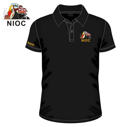 NIOC  - POLO Neck Sports T-Shirt