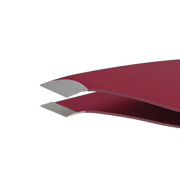 Tweezers with Combo Edge by Slice - Red